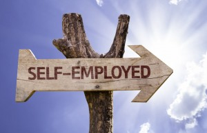 Self employed sign low res