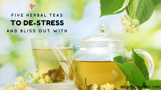 5 Herbal Teas for De Stress