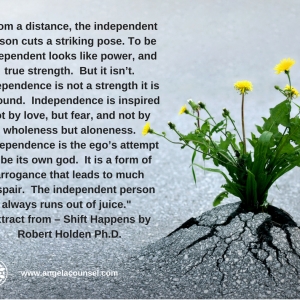 Independence – Good or Bad
